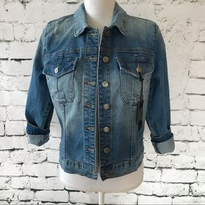Kut from the Kloth Tailored Amelia Jean Jacket Med
